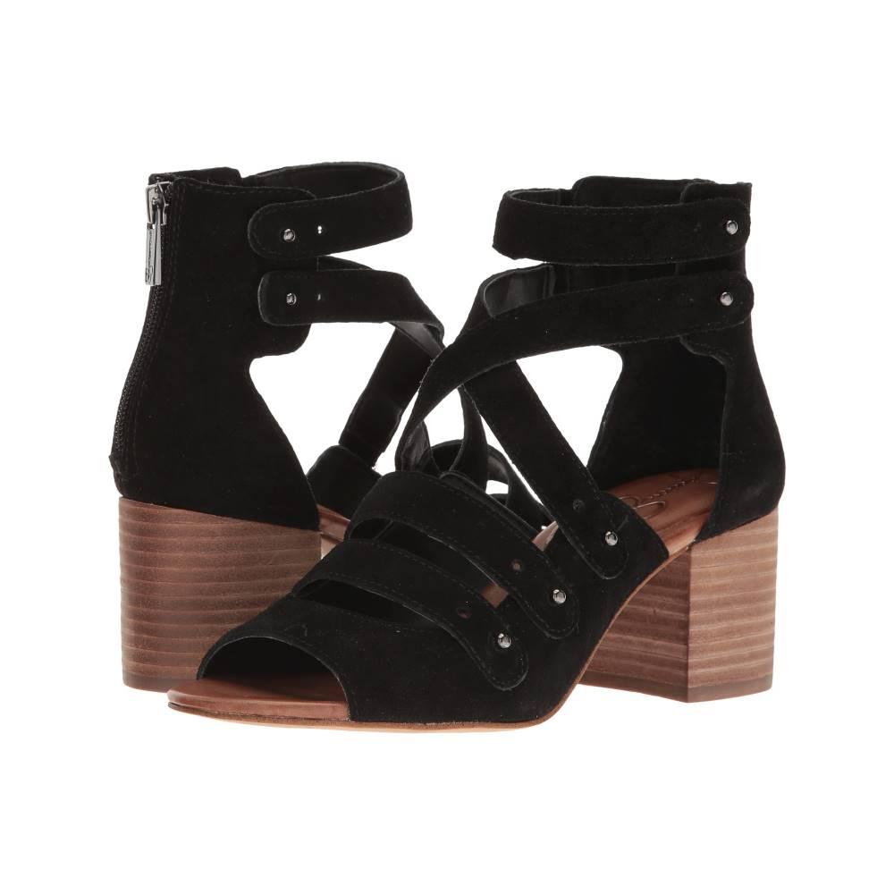 ジェシカシンプソン レディース シューズ・靴 サンダル・ミュール【Halacie】Black Split Suede