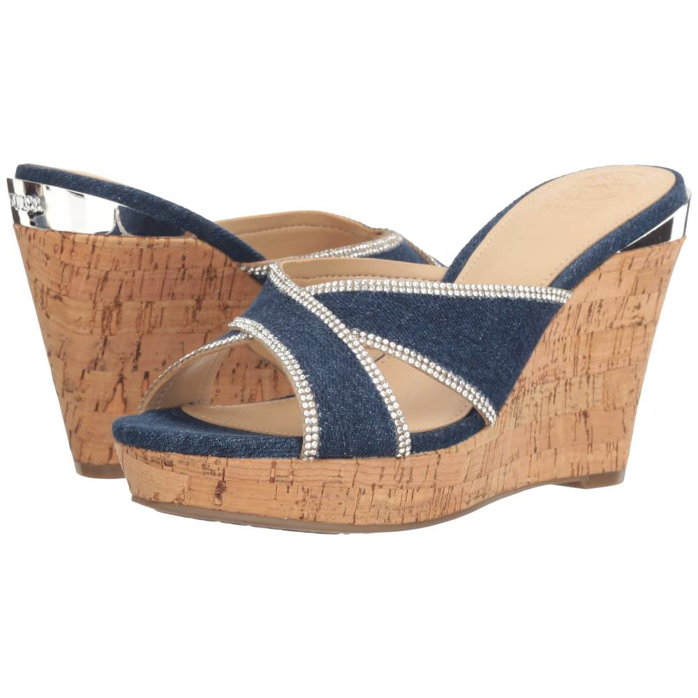 ゲス レディース シューズ・靴 サンダル・ミュール【Eleonora】Denim
