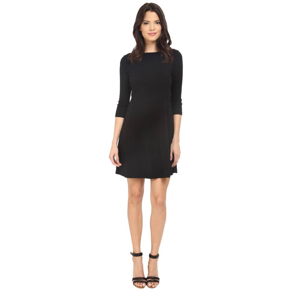 スリードッツ レディース ワンピース・ドレス ワンピース【Trista British Dress】Black