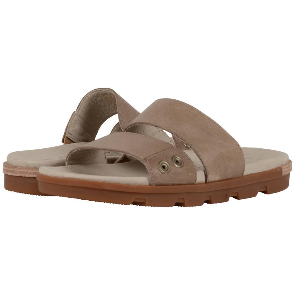 ソレル レディース シューズ・靴 サンダル・ミュール【Torpeda Slide II】Sahara/Fossil