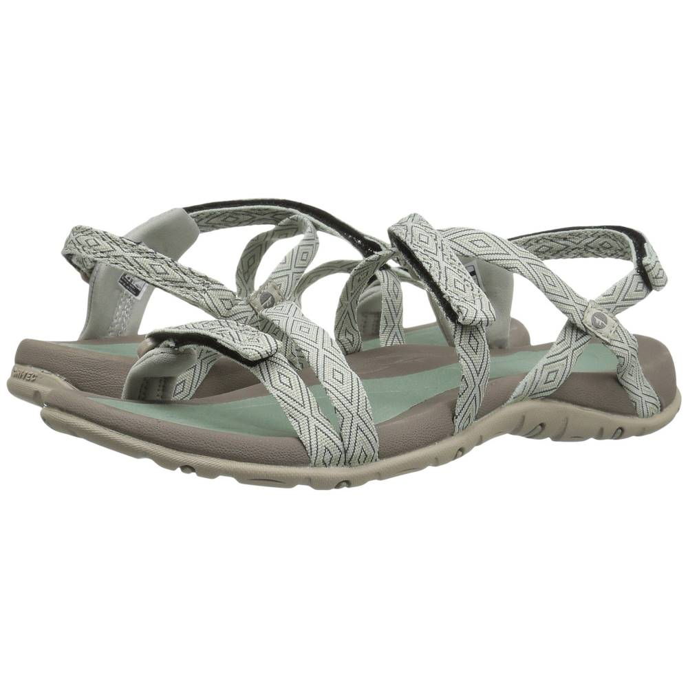 ハイテック レディース シューズ・靴 サンダル・ミュール【Santorini Strap】Jadeite/Warm Grey