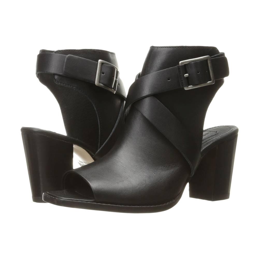 ウルヴァリン レディース シューズ・靴 サンダル・ミュール【Piper Open Toe Boot】Black Leather