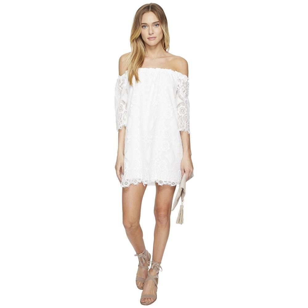 ダコタ レディース ワンピース・ドレス ワンピース【Halden Off the Shoulder Lace Dress】Ivory