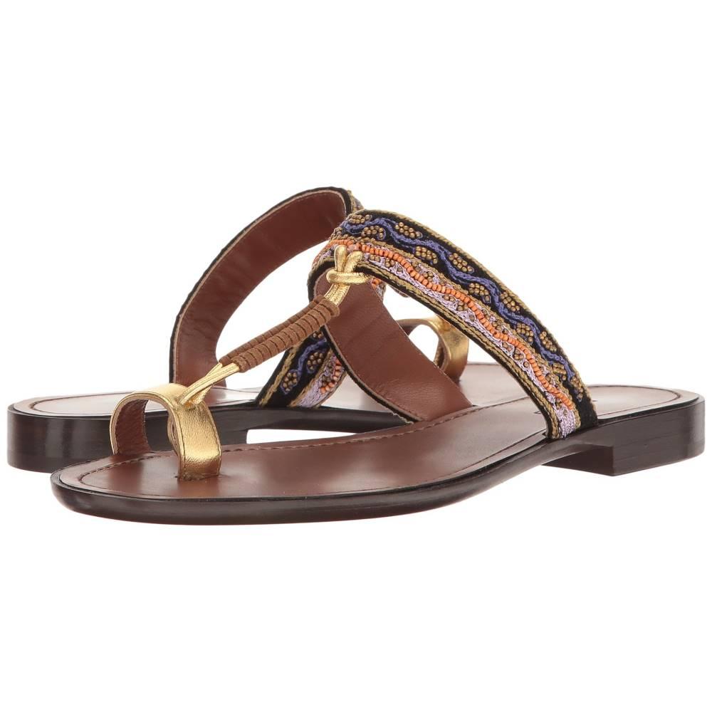 エトロ レディース シューズ・靴 サンダル・ミュール【Toe Ring Sandal】Brown