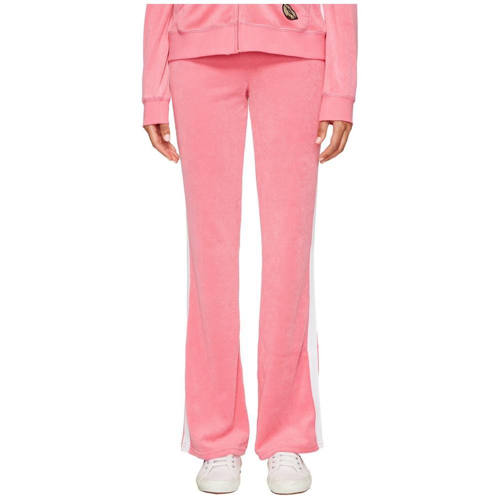 ジューシークチュール レディース ボトムス・パンツ【Venice Beach Patches Microterry Del Rey Pants】Precocious Pink