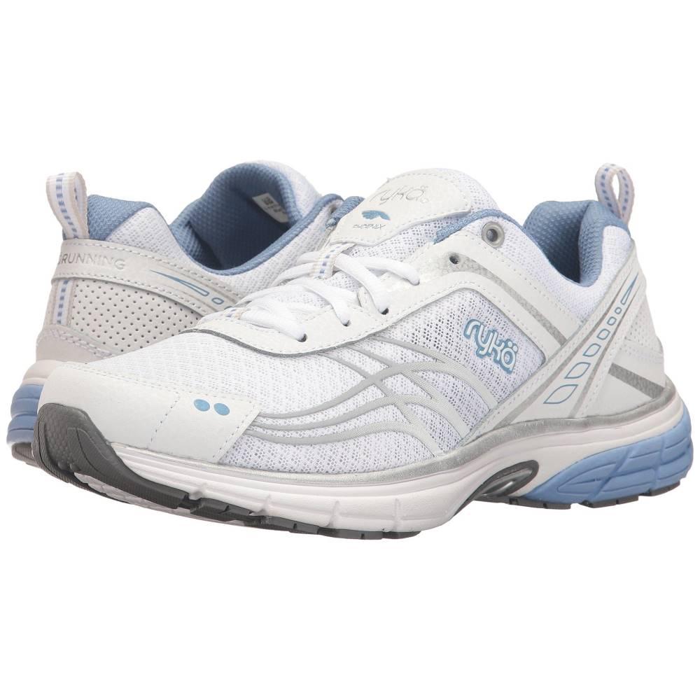 ライカ レディース ランニング・ウォーキング シューズ・靴【Phoenix】White/Chrome Silver/Metallic Lake Blue