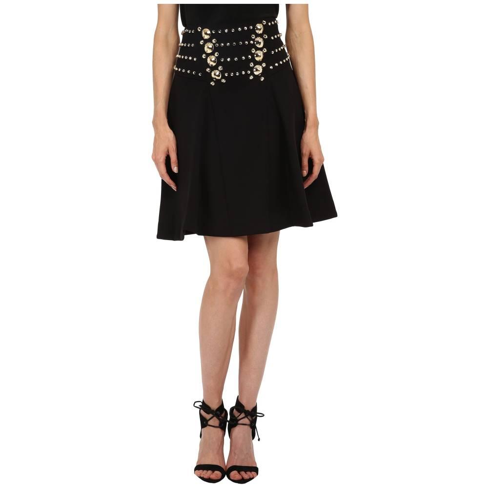 ヴェルサーチ レディース スカート【Embellished Skirt】Nero