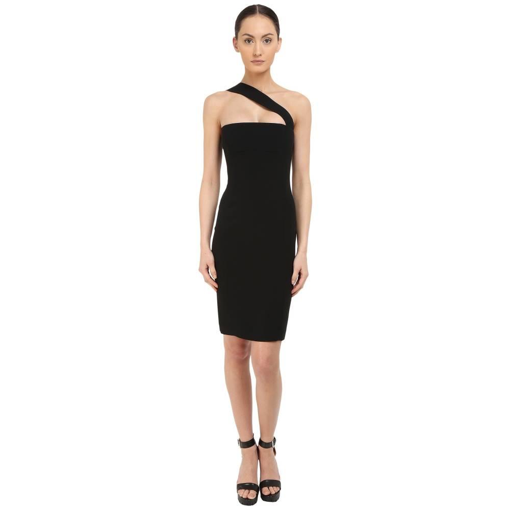 ディースクエアード レディース ワンピース・ドレス ワンピース【Stretch Cady/Haimi One Shoulder Dress】Black