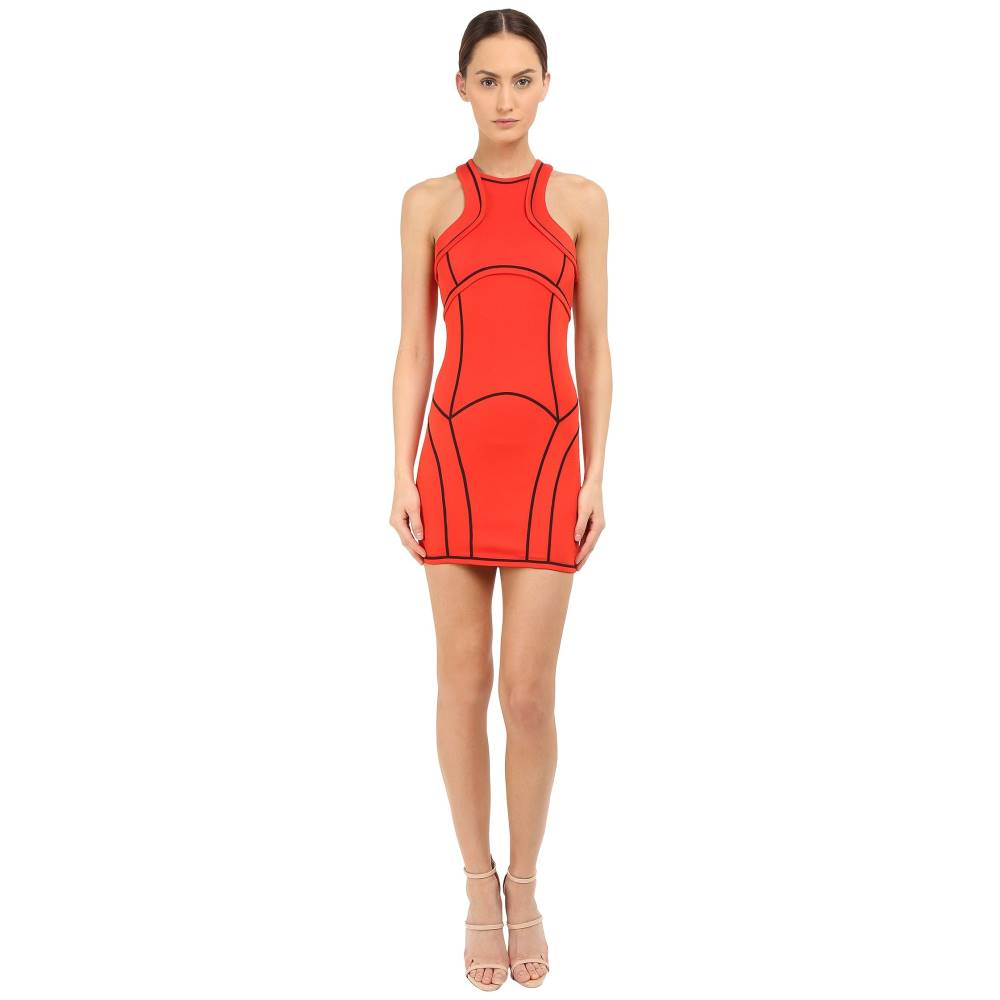 ディースクエアード レディース ワンピース・ドレス ワンピース【Compact Viscose Jersey Dress】Berry/Red