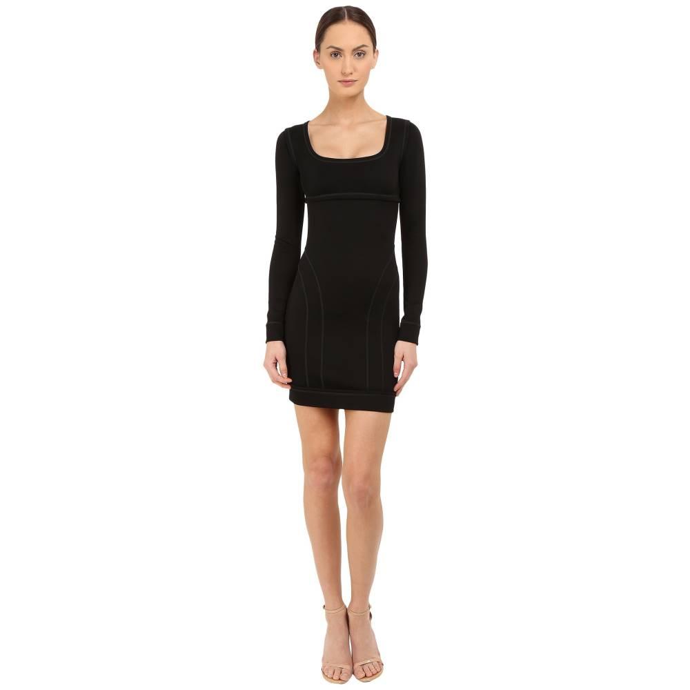 ディースクエアード レディース ワンピース・ドレス ワンピース【Compact Viscose Jersey Dress】Black