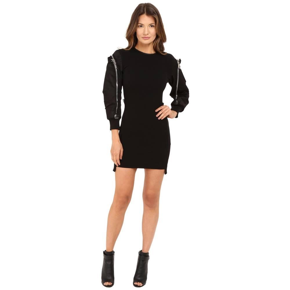 ディースクエアード レディース ワンピース・ドレス ワンピース【Wool Jersey Dress】Black