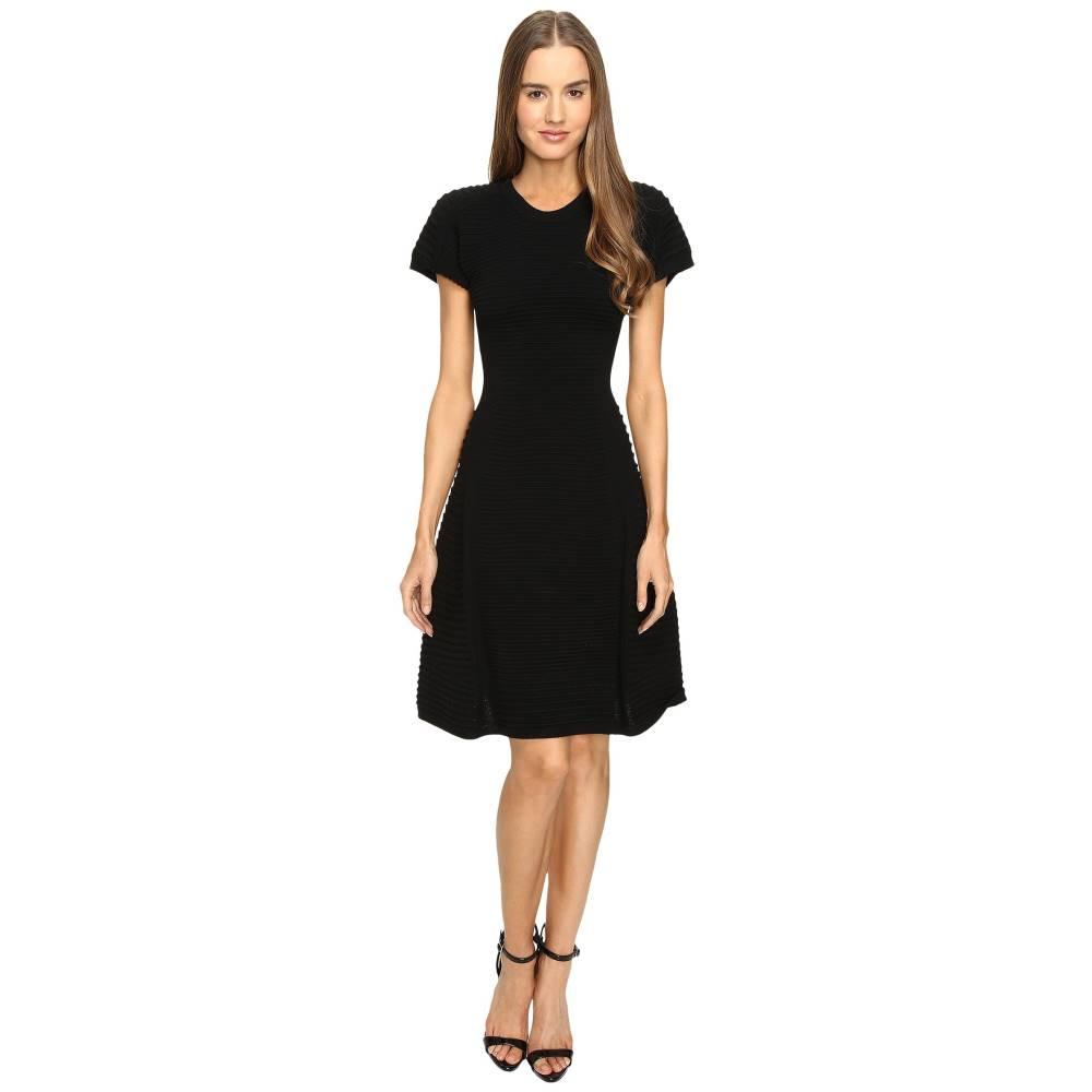 ディースクエアード レディース ワンピース・ドレス ワンピース【Short Sleeve A Line Dress】Black