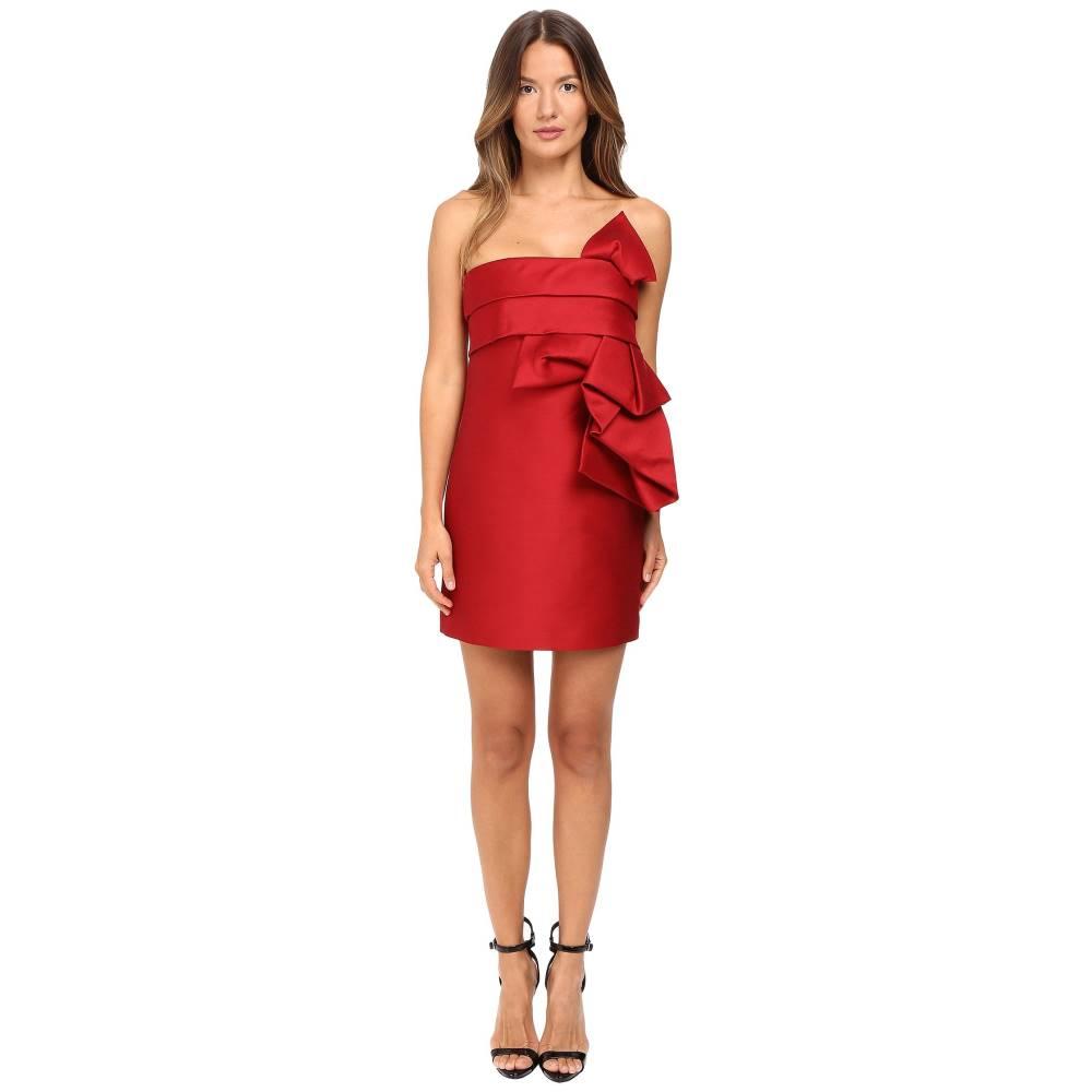 ディースクエアード レディース ワンピース・ドレス ワンピース【Wool Silk Mini Sculpture Dress】Red