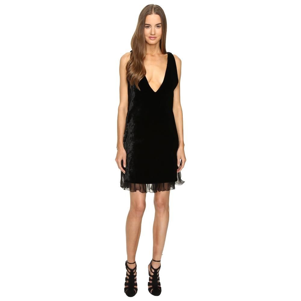 ディースクエアード レディース ワンピース・ドレス ワンピース【Open Sides V-Neck Dress】Black