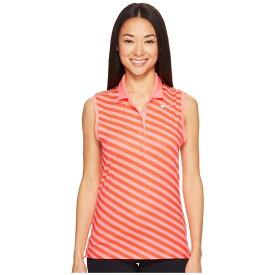 40db5e7dfa870 ナイキ レディース トップス ポロシャツ【Precision Print Sleeveless Polo】Lava Glow/Max Orange/