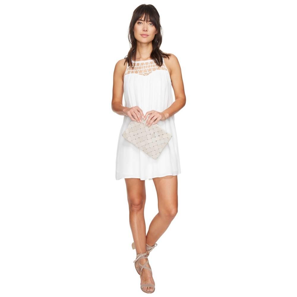 ダコタ レディース ワンピース・ドレス ワンピース【Astor Crochet Yoke Shift Dress】Ivory