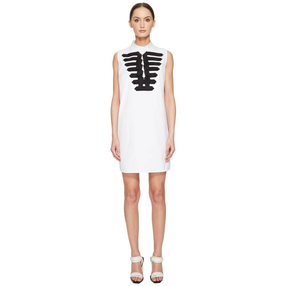 ディースクエアード レディース ワンピース・ドレス ワンピース【Cotton Poplin Marching Shirt Dress】White