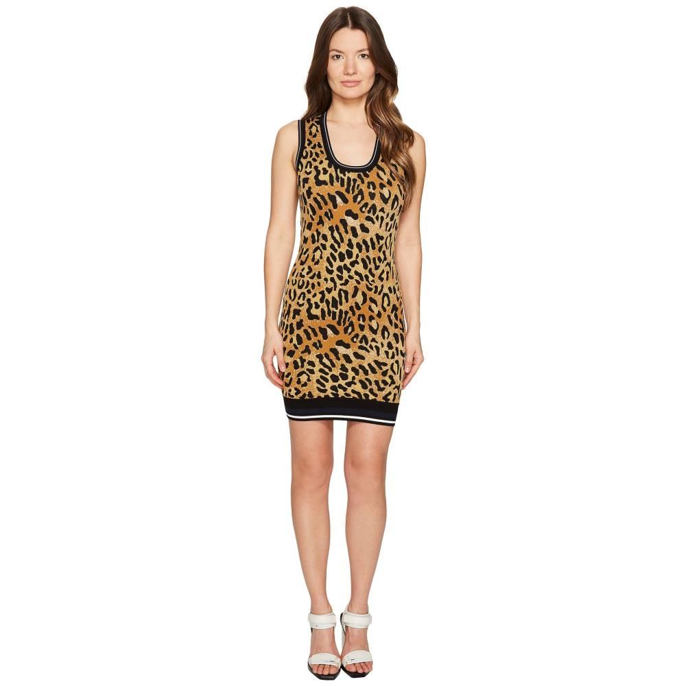 ディースクエアード レディース ワンピース・ドレス ワンピース【Animal Tank Dress】Cheetah Print