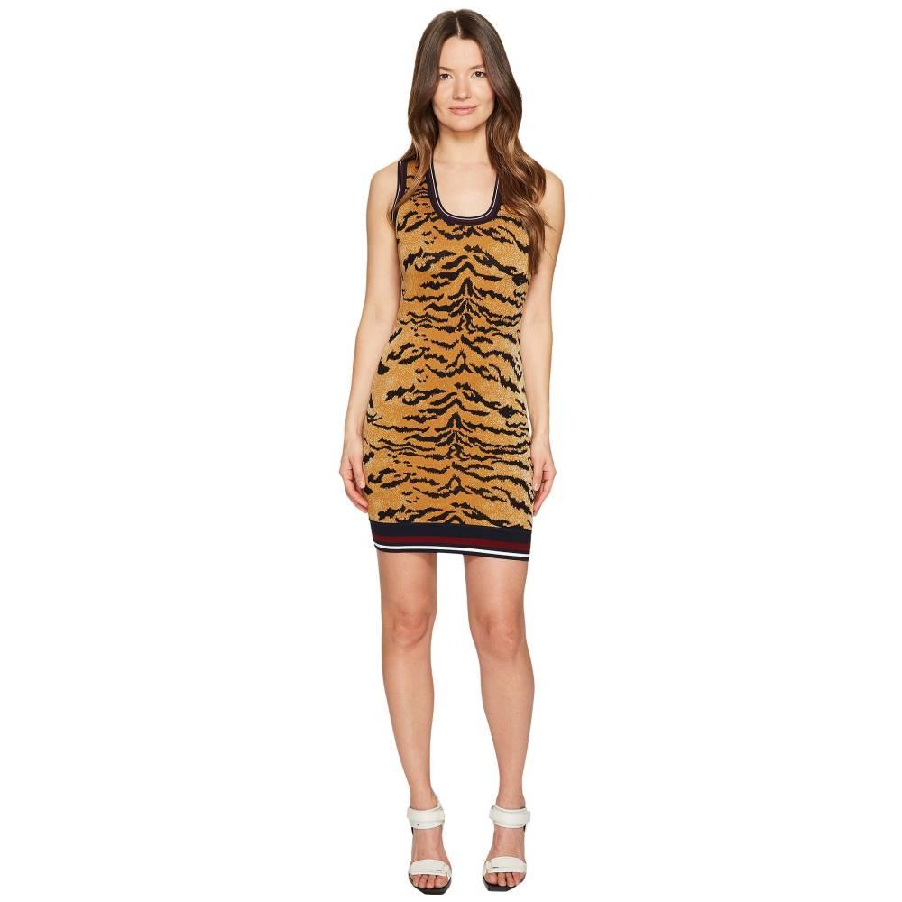 ディースクエアード レディース ワンピース・ドレス ワンピース【Animal Tank Dress】Tiger Print
