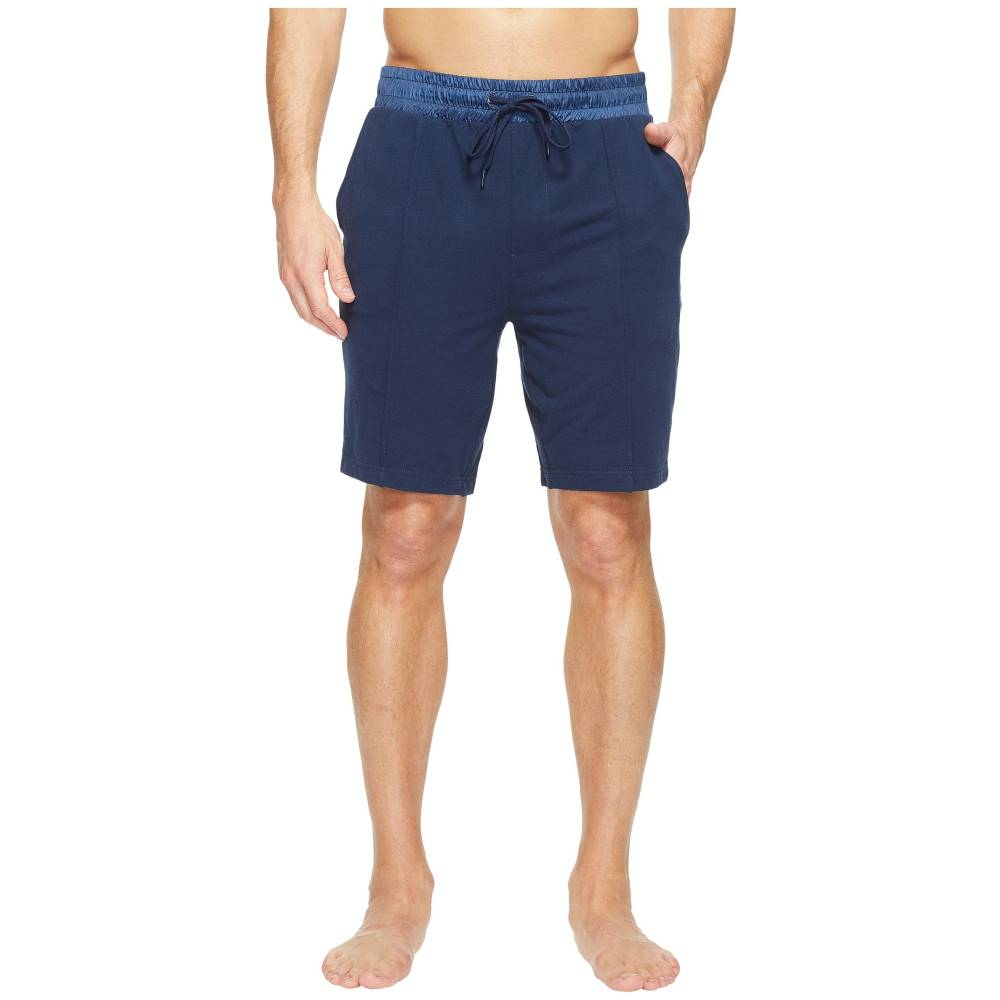 ツーイグジスト メンズ インナー・下着 パジャマ・ボトムのみ【Modern Classic Lounge Shorts】Varsity Navy