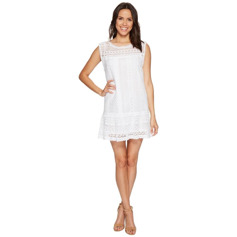 ダコタ レディース ワンピース・ドレス ワンピース【Milo Crochet Dress】Optic White
