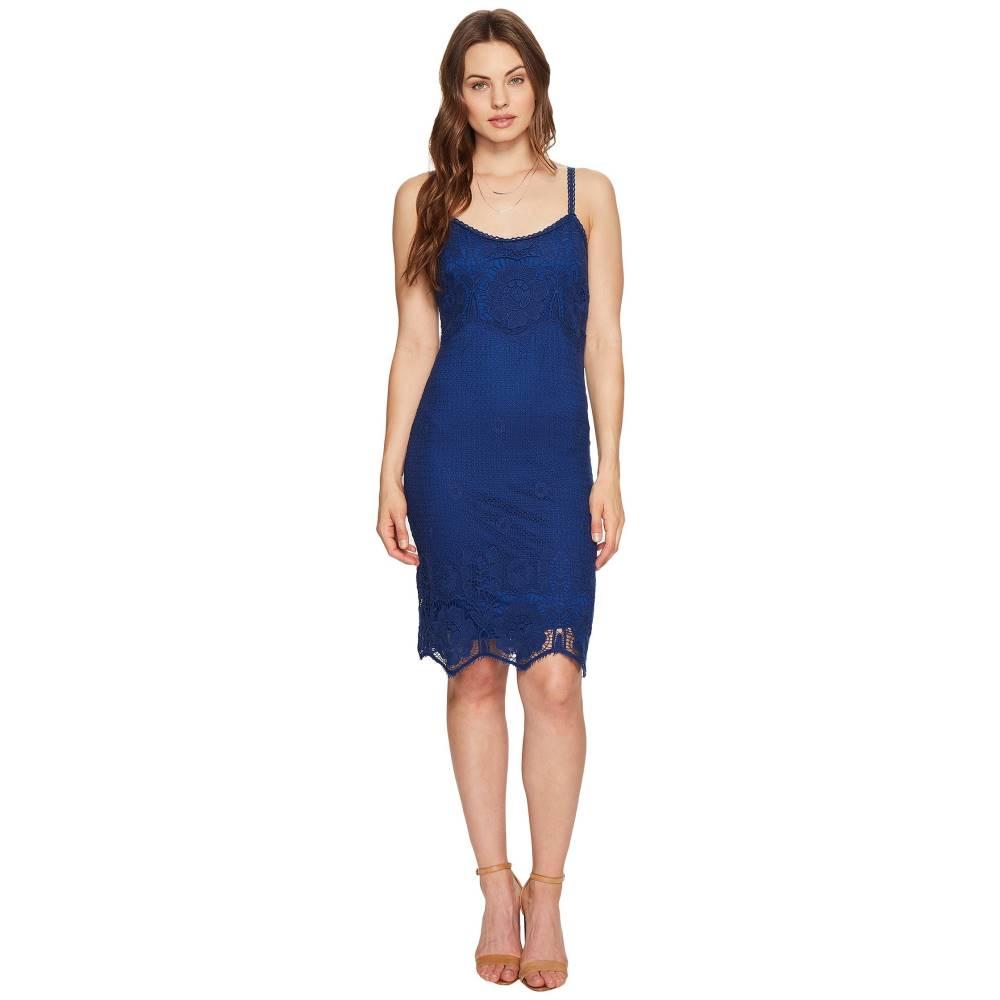 ダコタ レディース ワンピース・ドレス ワンピース【Cassia Scallop Lace Dress】Indigo
