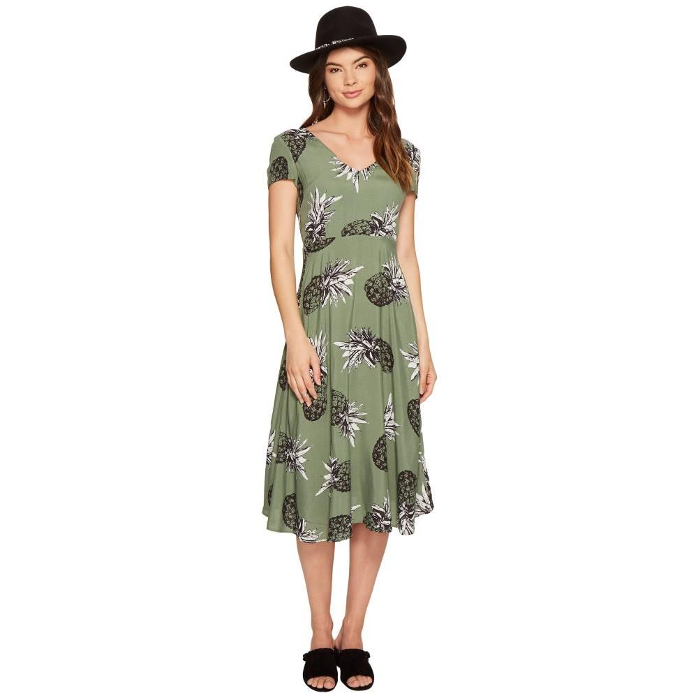 ダコタ レディース ワンピース・ドレス ワンピース【Emilienne Printed Midi Dress】Sage