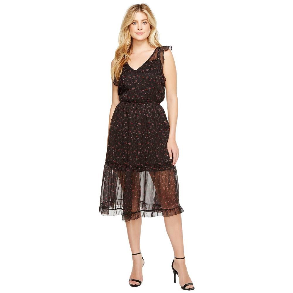 ダコタ レディース ワンピース・ドレス ワンピース【Cal Floral Midi Dress】Black