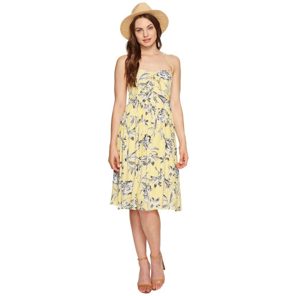 ダコタ レディース ワンピース・ドレス ワンピース【Joss Printed Front Tie Dress】Yellow