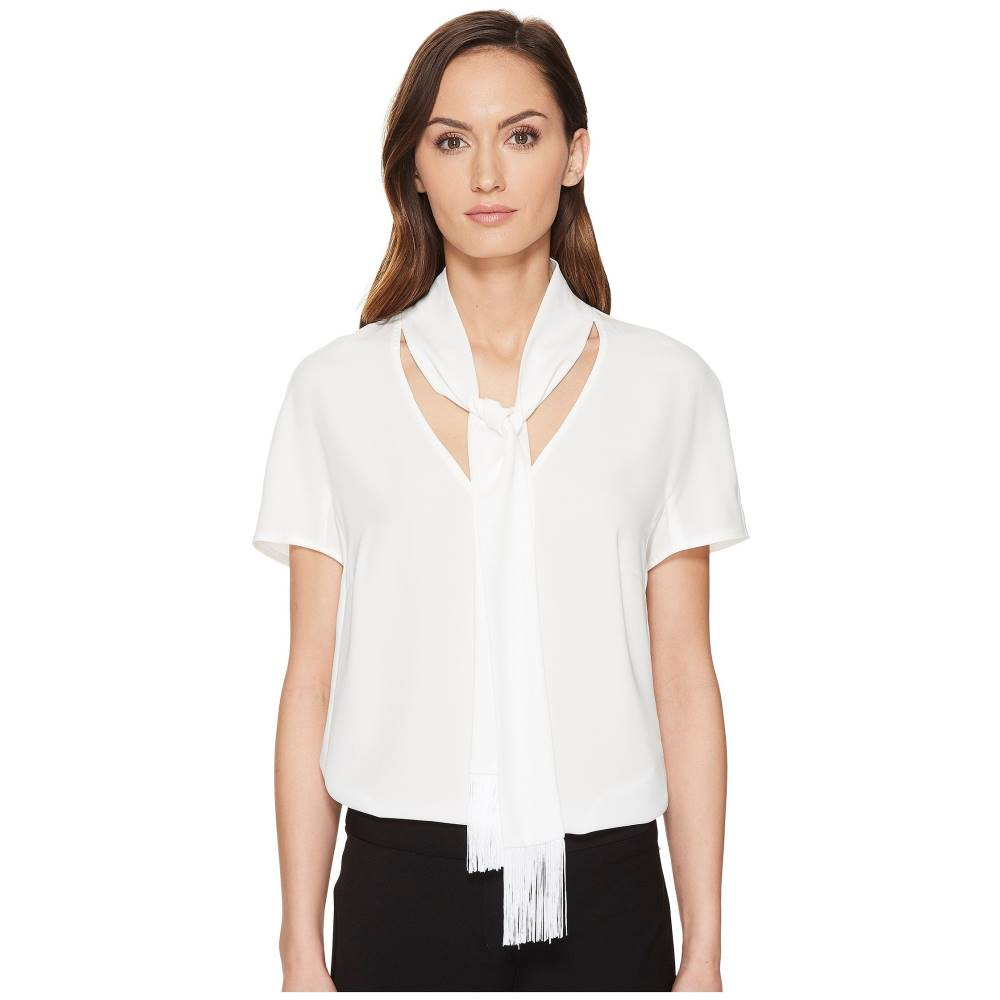エスカーダ レディース トップス ブラウス・シャツ【Naxanefa Short Sleeve Blouse】Off-White