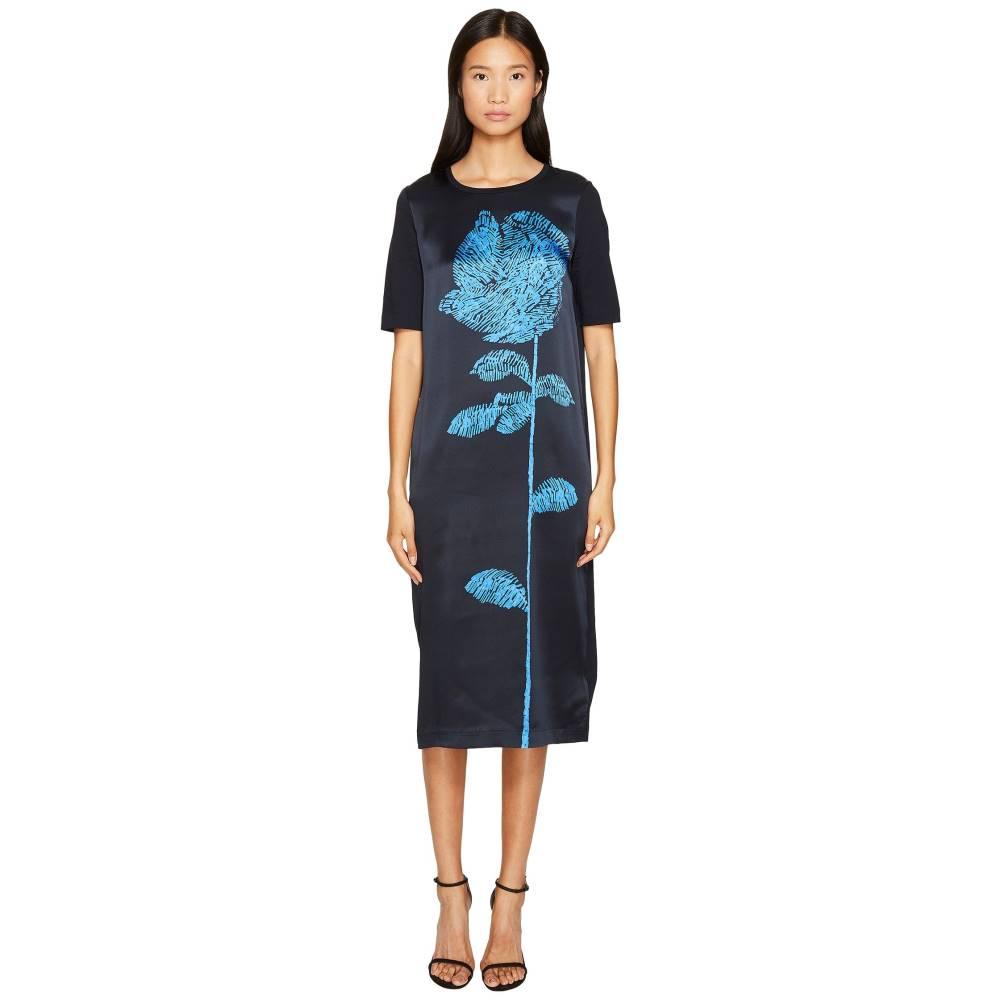 エスカーダ レディース ワンピース・ドレス ワンピース【Deraffia Short Sleeve Flower Dress】Open Miscellaneous