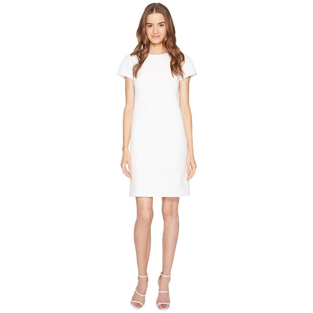 エスカーダ レディース ワンピース・ドレス ワンピース【Dastruc Short Sleeve Tunic】Off-White