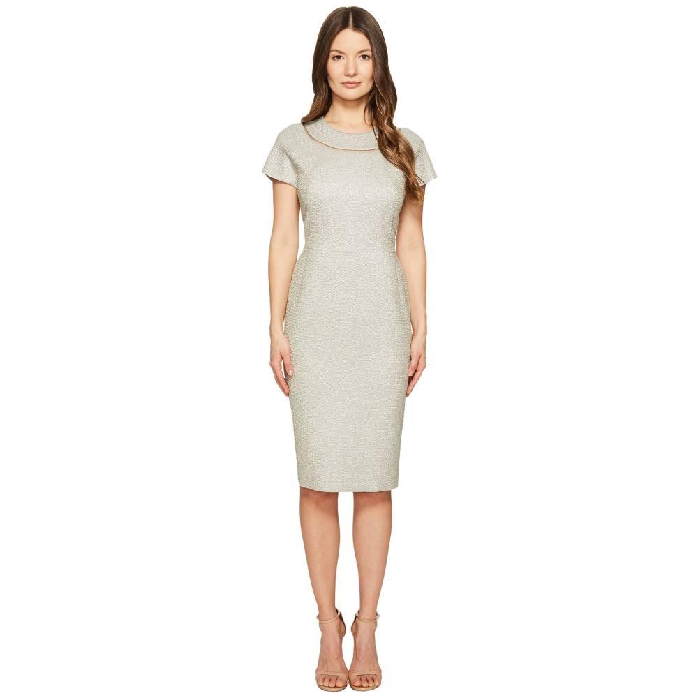 エスカーダ レディース ワンピース・ドレス ワンピース【Dsill Short Sleeve Fitted Dress】Light Sand
