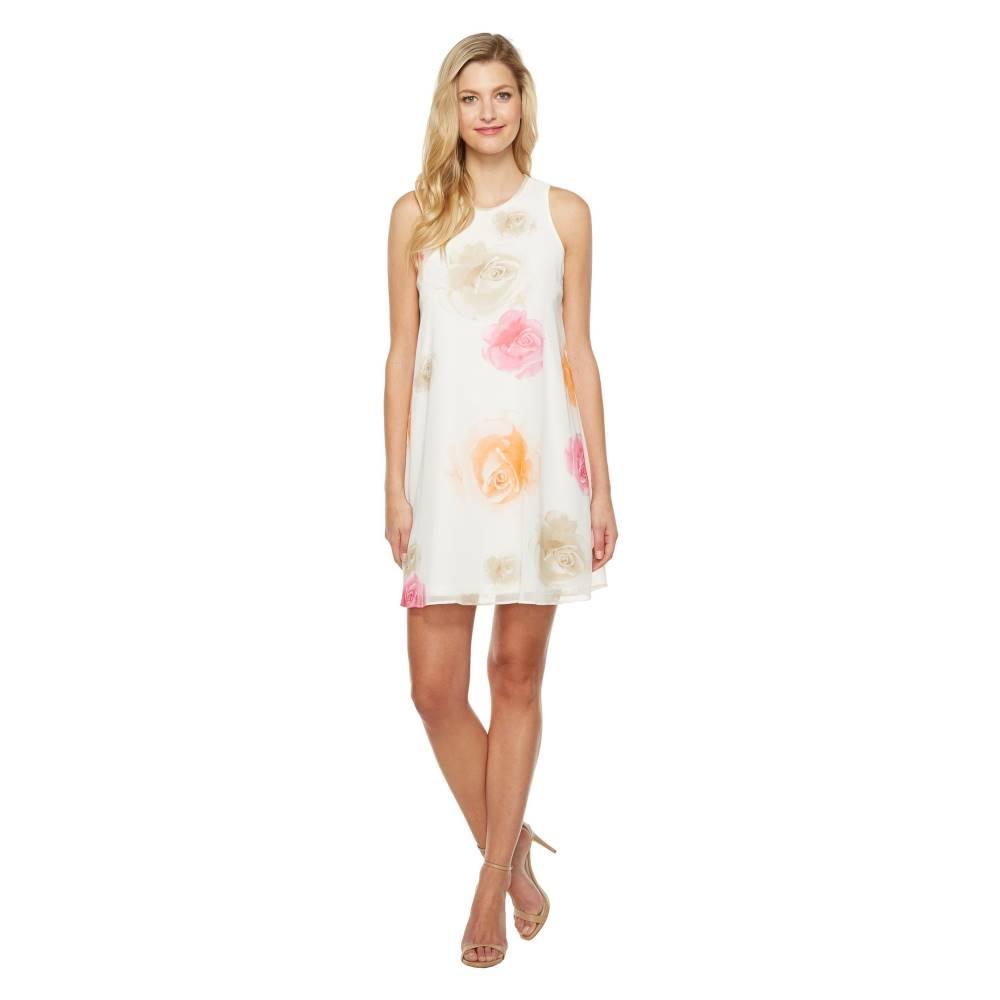 カルバンクライン レディース ワンピース・ドレス ワンピース【Floral Trapiz Dress CD7HC39D】Ember Multi