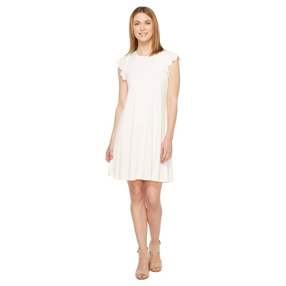 スリードッツ レディース ワンピース・ドレス ワンピース【Flounce Dress】Gardenia