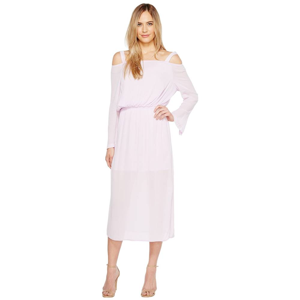 カルバンクライン レディース ワンピース・ドレス ワンピース【Off the Shoulder Midi Dress】Opal Pink
