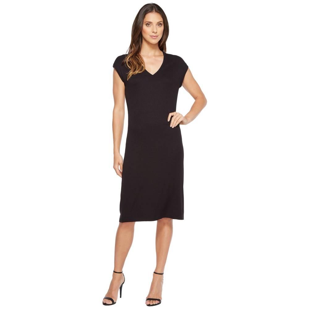イヴァンカ トランプ レディース ワンピース・ドレス ワンピース【Short Sleeve Knit Dress】Black