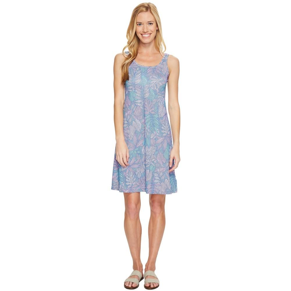 コロンビア レディース ワンピース・ドレス ワンピース【Freezer' III Dress】Phantom Purple Tropical Dot