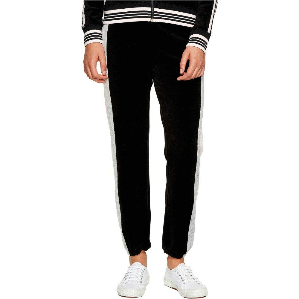 ジューシークチュール レディース ボトムス・パンツ【Sporty Heritage Mid-Rise Pants】Pitch Black