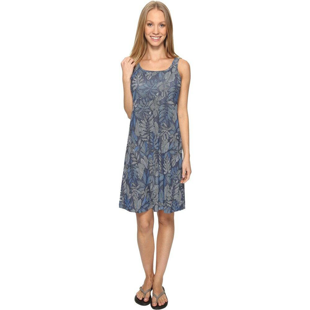 コロンビア レディース ワンピース・ドレス ワンピース【Freezer' III Dress】Collegiate Navy Tropic Dot