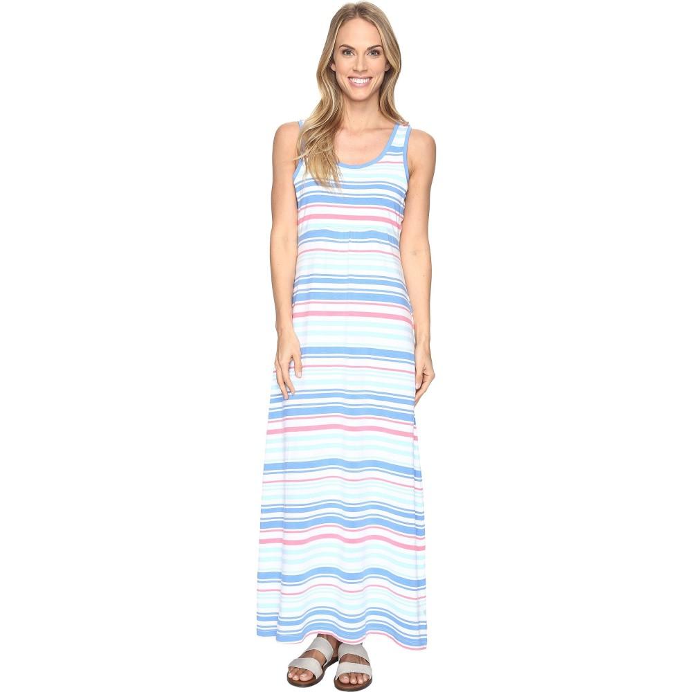 コロンビア レディース ワンピース・ドレス ワンピース【Reel Beauty' II Maxi Dress】Harbor Blue Variegated Stripe