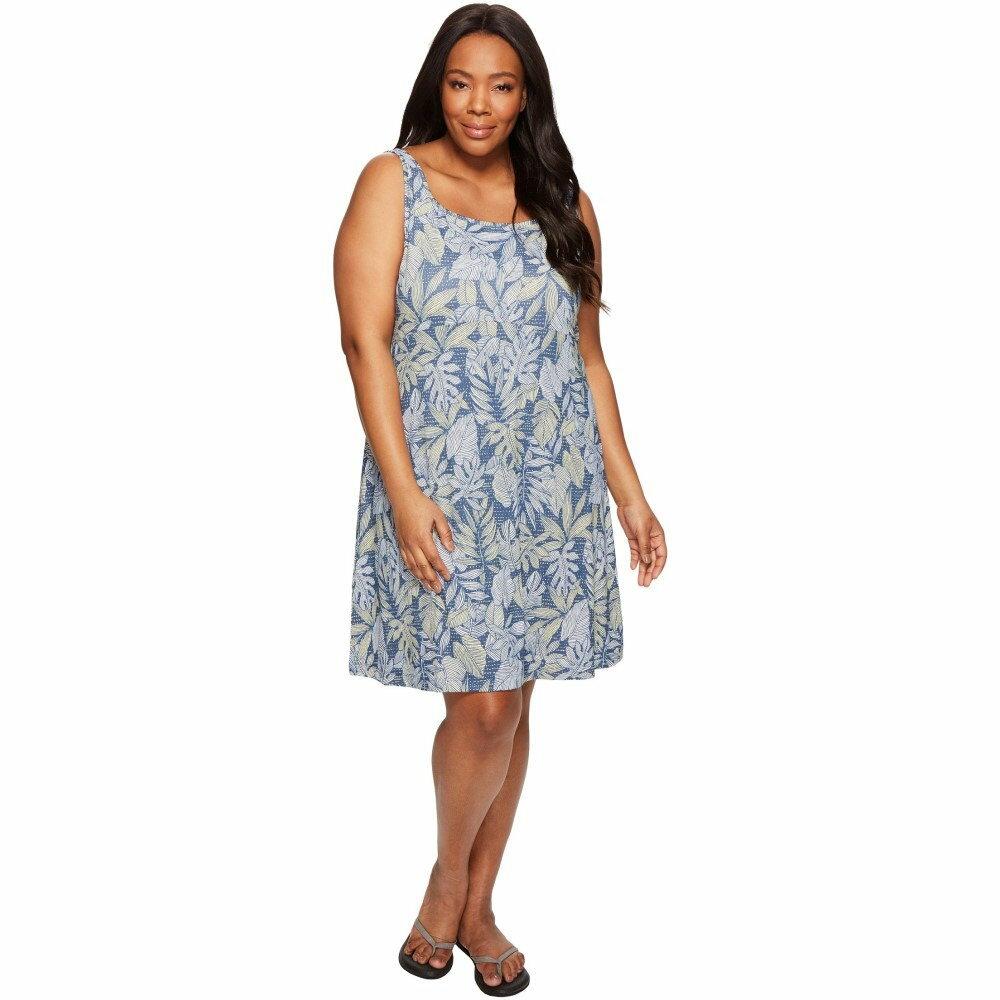 コロンビア レディース ワンピース・ドレス ワンピース【Plus Size Freezer III Dress】Sunlit Tropical Dot