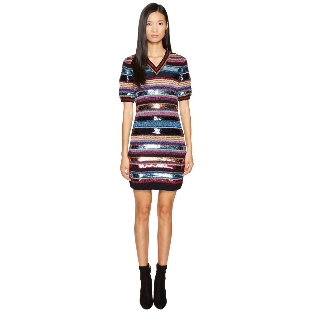 ディースクエアード レディース ワンピース・ドレス ワンピース【Military Glam Short Sleeve Dress】Multi
