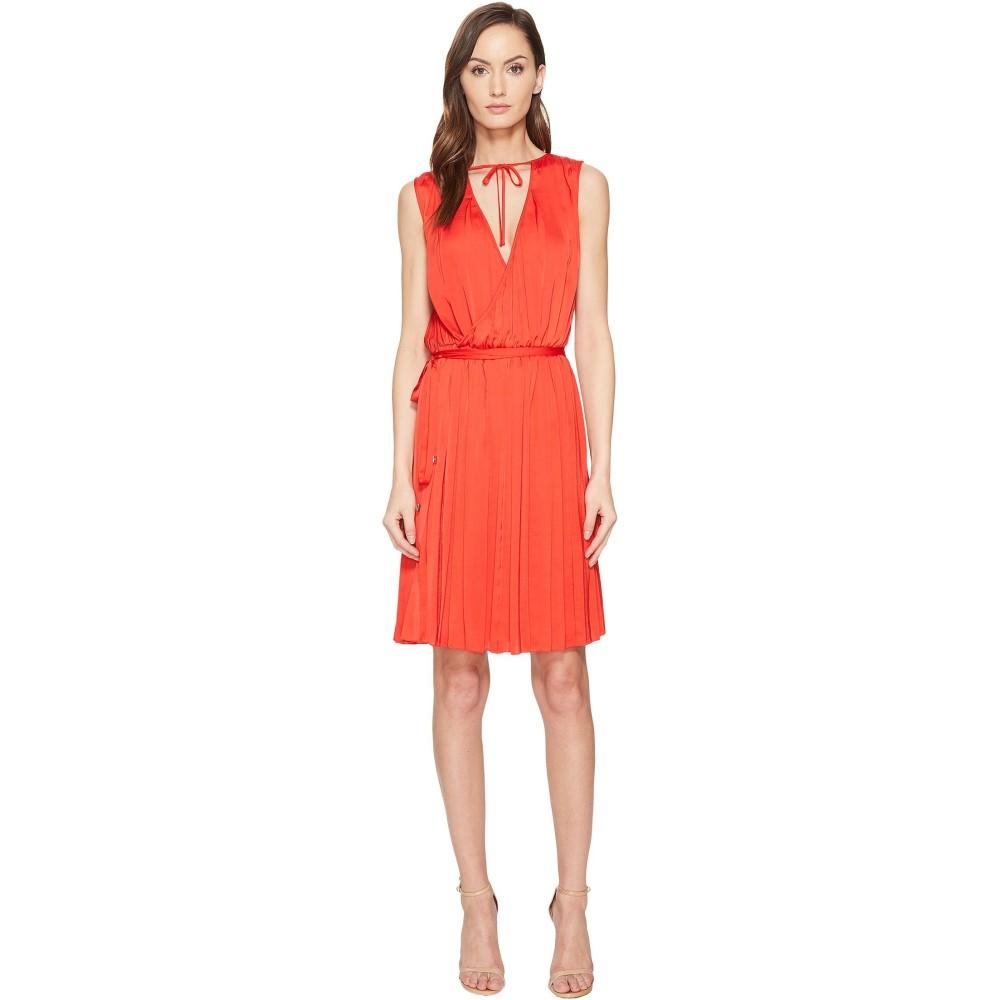エスカーダ レディース ワンピース・ドレス ワンピース【Dapana Sleeveless Wrap Dress】Acrylic Red