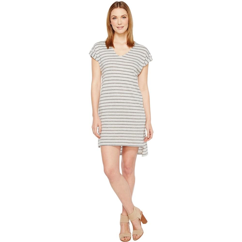 オルタナティヴ レディース ワンピース・ドレス ワンピース【Eco Jersey Yarn Dye Stripe Escapade Dress】Eco Grey Riviera Stripe