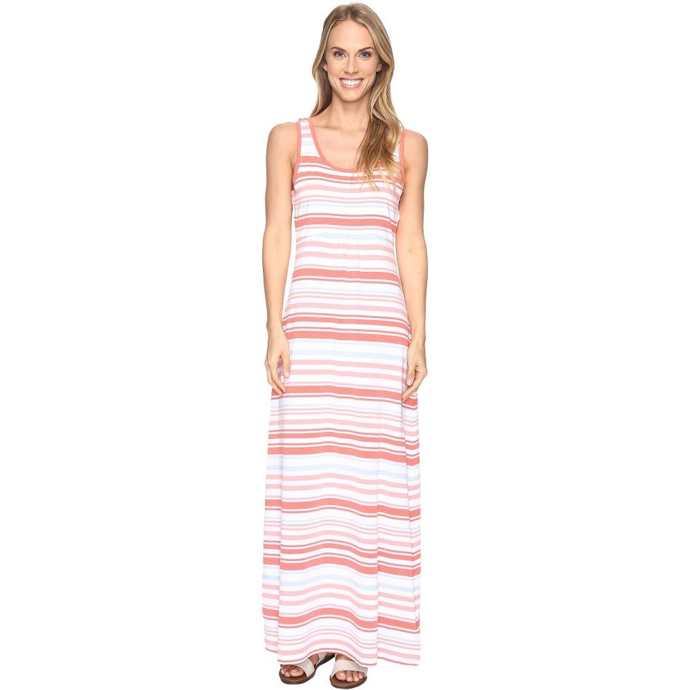 コロンビア レディース ワンピース・ドレス ワンピース【Reel Beauty' II Maxi Dress】Melonade Variegated Stripe