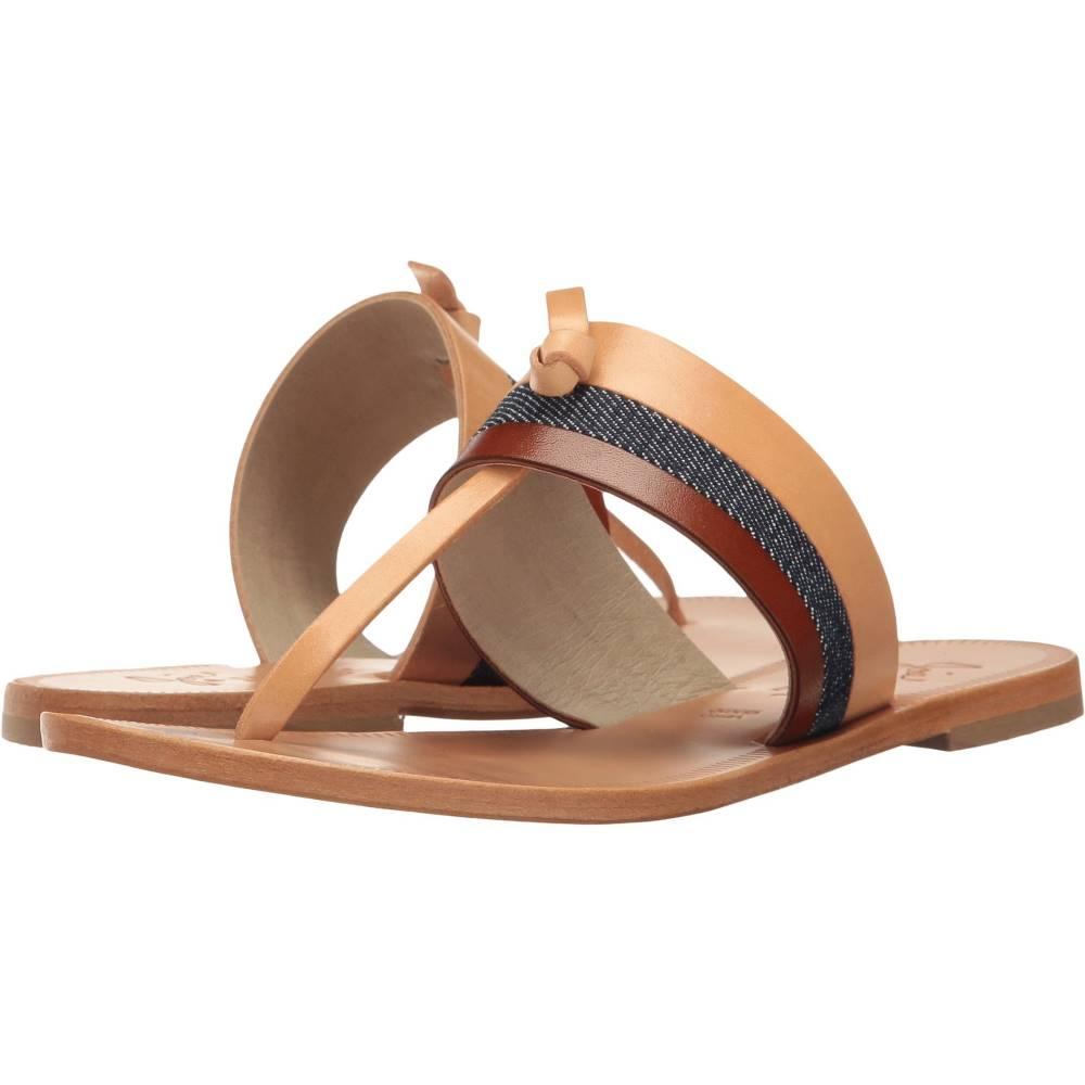 ジョア レディース シューズ・靴 サンダル・ミュール【Naima】Denim/Natural Vachetta