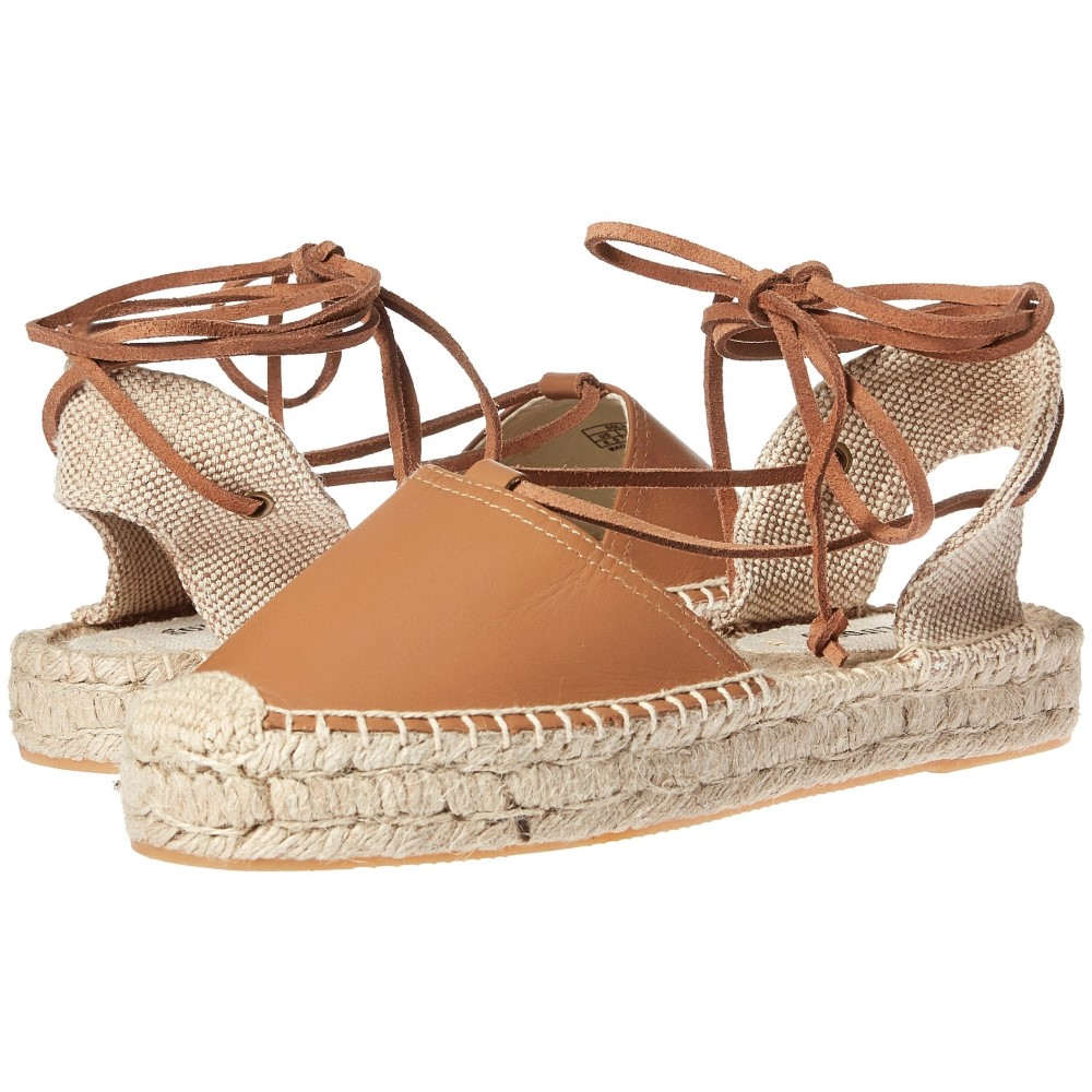 ソルドス レディース シューズ・靴 サンダル・ミュール【Platform Gladiator Sandal Leather】Tan
