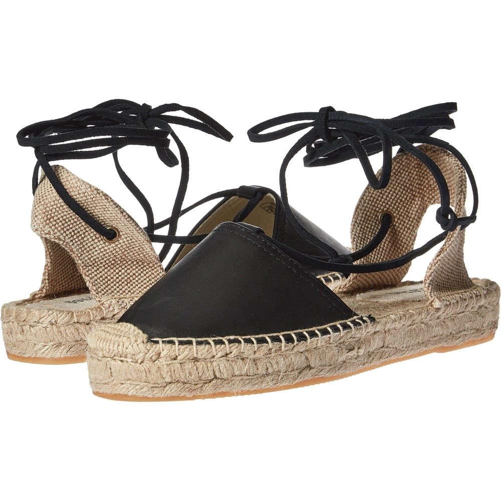 ソルドス レディース シューズ・靴 サンダル・ミュール【Platform Gladiator Sandal Leather】Black