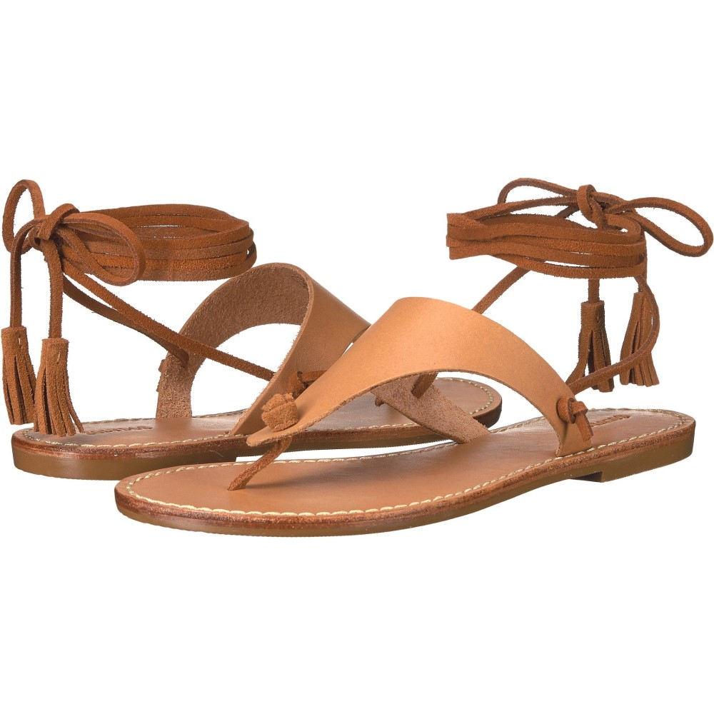 ソルドス レディース シューズ・靴 ビーチサンダル【Thong Gladiator Flat Sandal】Vachetta Leather